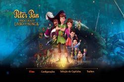 DVD PETER PAN - A PROCURA DO LIVRO DO NUNCA