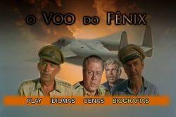 DVD O VOO DO FENIX - JAMES STEWART