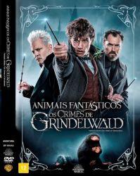 DVD ANIMAIS FANTASTICOS - OS CRIMES DE GRINDELWALD
