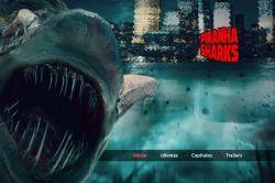 DVD PIRANHA SHARKS - KEVIN SORBO