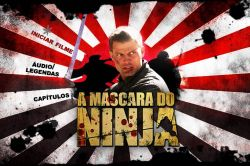 DVD A MASCARA DO NINJA - CASPER VAN DIEN
