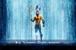 DVD AQUAMAN - JASON MOMOA