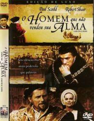 DVD O HOMEM QUE NAO VENDEU SUA ALMA - ROBERT SHAW