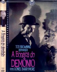 DVD A BONECA DO DEMONIO - LIONEL BARRYMORE
