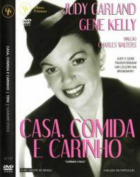 DVD CASA COMIDA E CARINHO - JUDY GARLAND