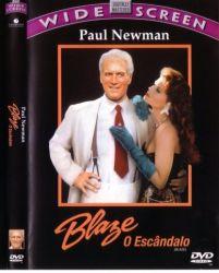 DVD BLAZE - O ESCANDALO - PAUL NEWMAN