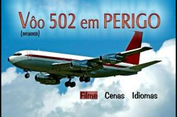 DVD VOO 502 EM PERIGO - CHARLTON HESTON