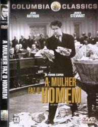 DVD A MULHER FAZ O HOMEM - JAMES STEWART