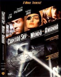 DVD  CAPITAO SKY E O MUNDO DE AMANHA - ANGELINA JOLIE