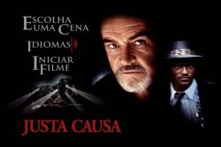 DVD JUSTA CAUSA  - SEAN CONNERY