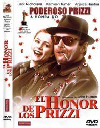 DVD A HONRA DO PODEROSO PRIZZI - JACK NICHOLSON