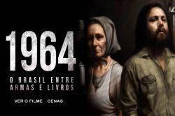 DVD 1964 - O BRASIL ENTRE ARMAS E LIVROS