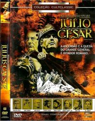 DVD JULIO CESAR - CHARLTON HESTON