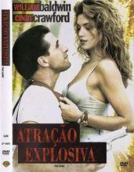 DVD ATRAÇAO EXPLOSIVA - WILLIAM BALDWIN