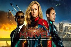 DVD CAPITA MARVEL - JUDE LAW
