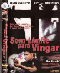DVD SEM LIMITE PARA VINGAR  - DENZEL WASHINGTON