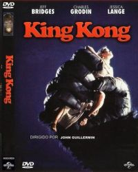 DVD KING KONG - 1976 - JEFF BRIDGES