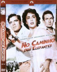 DVD NO CAMINHO DOS ELEFANTES - ELIZABETH TAYLOR