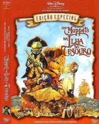 DVD OS MUPPETS NA ILHA DO TESOURO - TIM CURRY