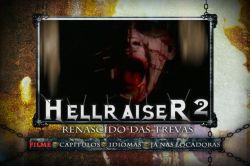DVD HELLRAISER 2 - REANSCIDO DAS TREVAS