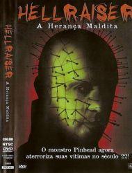 DVD HELLRAISER 4 - A HERANÇA MALDITA