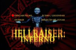 DVD HELLRAISER 5  -INFERNO