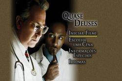 DVD QUASE DEUSES - ALAN RICKMAN