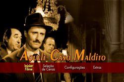 DVD AQUELE CASO MALDITO