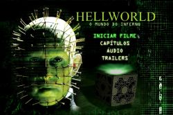 DVD HELLWORLD 8  - O MUNDO DO INFERNO - LANCE HENRIKSEN