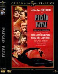 DVD PAIXAO FATAL - MARLENE DIETRICH