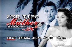 DVD SEU TIPO DE MULHER - ROBERT MITCHUM