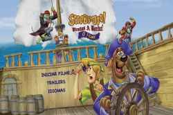 DVD SCOOBY-DOO  PIRATAS A BORDO