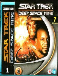 DVD JORNADA NAS ESTRELAS DEEP SPACE NINE 4 TEMP - 7 DVDs