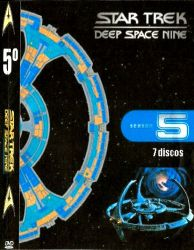 DVD JORNADA NAS ESTRELAS DEEP SPACE NINE 5 TEMP - 7 DVDs
