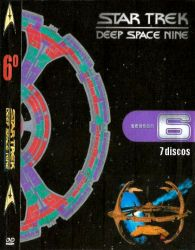 DVD JORNADA NAS ESTRELAS DEEP SPACE NINE 6 TEMP - 7 DVDs