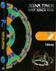 DVD JORNADA NAS ESTRELAS DEEP SPACE NINE 7 TEMP - 7 DVDs