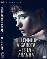 DVD MILLENNIUM - A GAROTA NA TEIA DE ARANHA