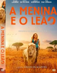 DVD A MENINA E O LEAO