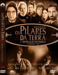 DVD OS PILARES DA TERRA - DESTRUIÇAO DO TEMPLO