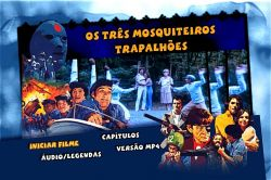 DVD OS TRAPALHOES - OS TRES MOSQUETEIROS TRAPALHOES