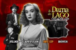 DVD A DAMA DO LAGO - ROBERT MONTGOMERY - 1947