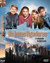 DVD OS INVESTIGADORES  E A MALDIÇAO DA MONTANHA