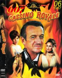 DVD 007 - CASSINO ROYALE - 1967