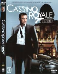 DVD 007 - CASSINO ROYALE - 2006