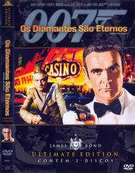 DVD 007 - OS DIAMANTES SAO ETERNOS