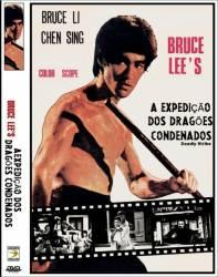DVD A EXPEDIÇAO DOS DRAGOES CONDENADOS - BRUCE LEE - 1978