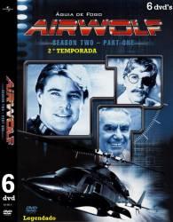 DVD ÁGUIA DE FOGO - 2º TEMP - 6 DVDs