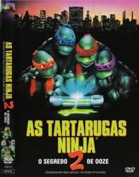 DVD AS TARTARUGAS NINJA 2 - O SEGREDO DO OOZE