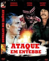 DVD ATAQUE EM ENTEBBE - CHARLES BRONSON