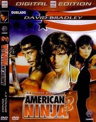 DVD AMERICAN NINJA 3 - O DRAGAO AMERICANO